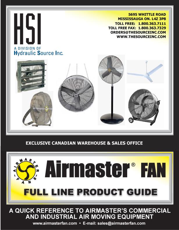 Airmaster Fan Catalog : Flyers catalogs hsi